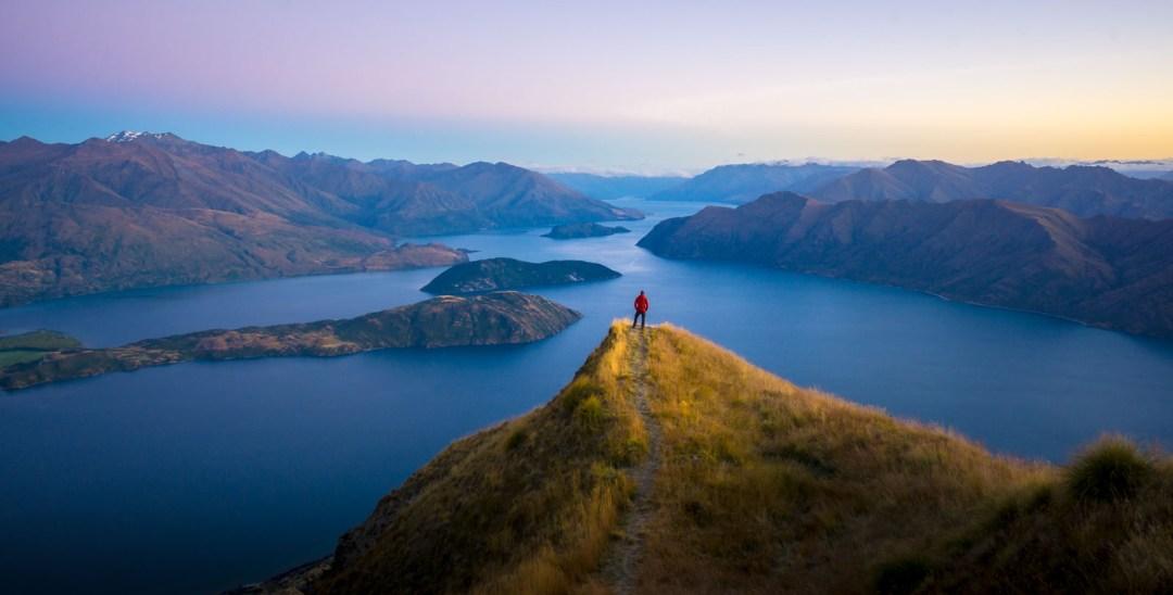 POW: Sunrise Colours from Coromandel Peak