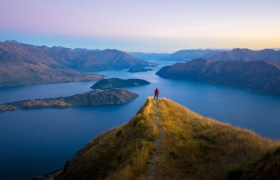 POW: Sunrise Colours from Coromandel Peak