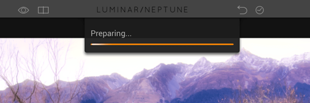 Loading Bar Showing Progress