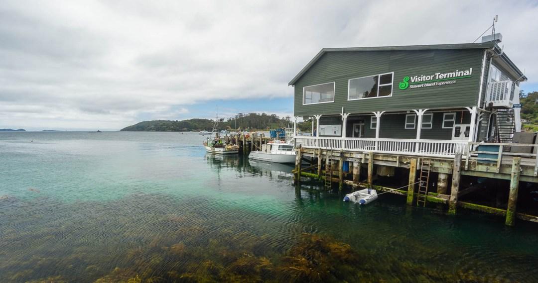 Stewart Island Visitor Terminal in Oban
