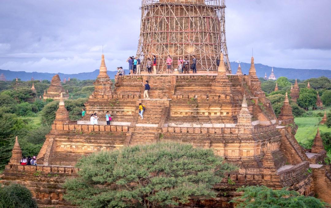 Bulethi pagoda in Bagan