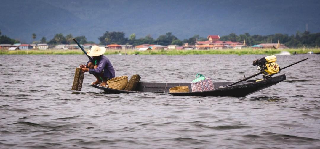 Fisherman in Inle Lake
