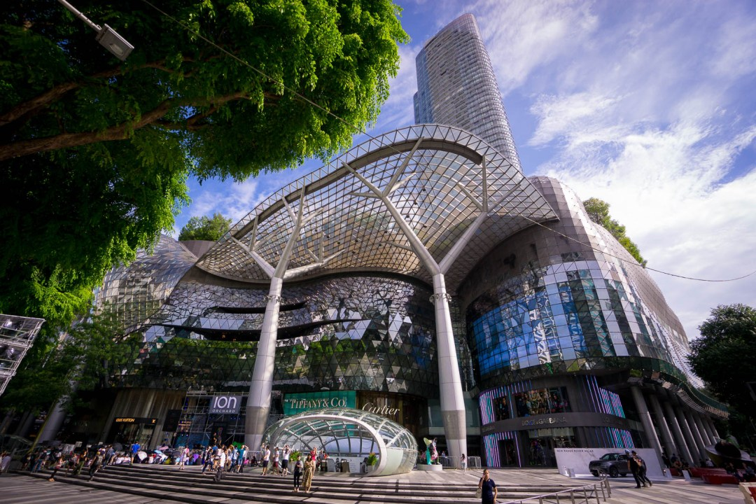 Ion Sky mall on Orchard Road