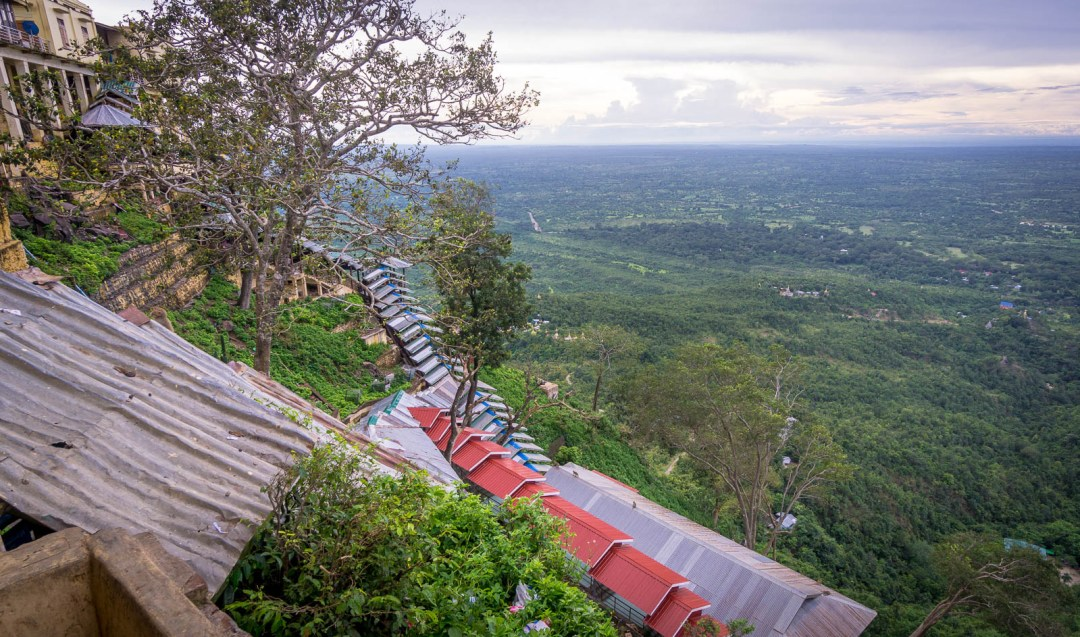 Mount Popa view from top