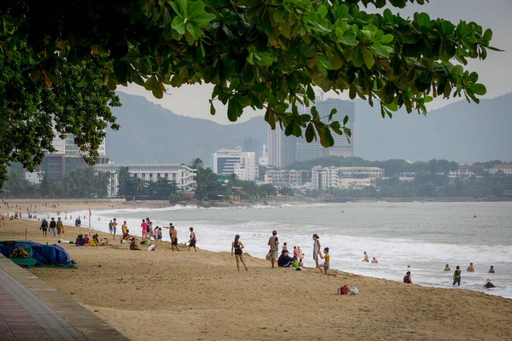 Beach of Nah Trang