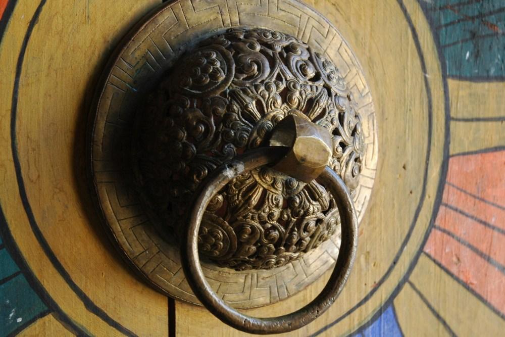 Bhutanese Door knodge