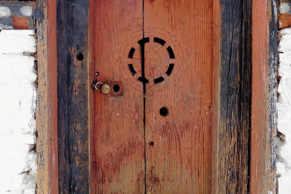 Bhutanese Door