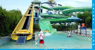 become a water slide tester