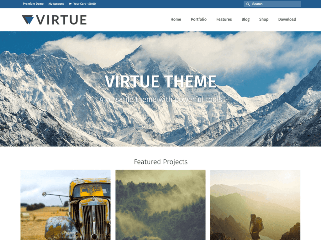 Virtue Thema