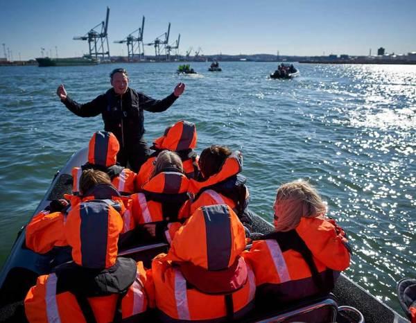Eventyr på bugten med Aarhus SeaRangers