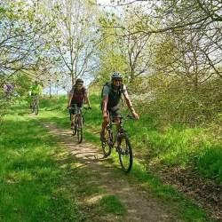 Smag Mols Bjerge på mountainbike med Karpenhøj Naturcenter