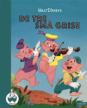 De tre små grise-Disney-Bog