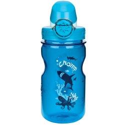 Nalgene Kids On The Fly OTF 350ml Bottle, SLATE/GLACIAL