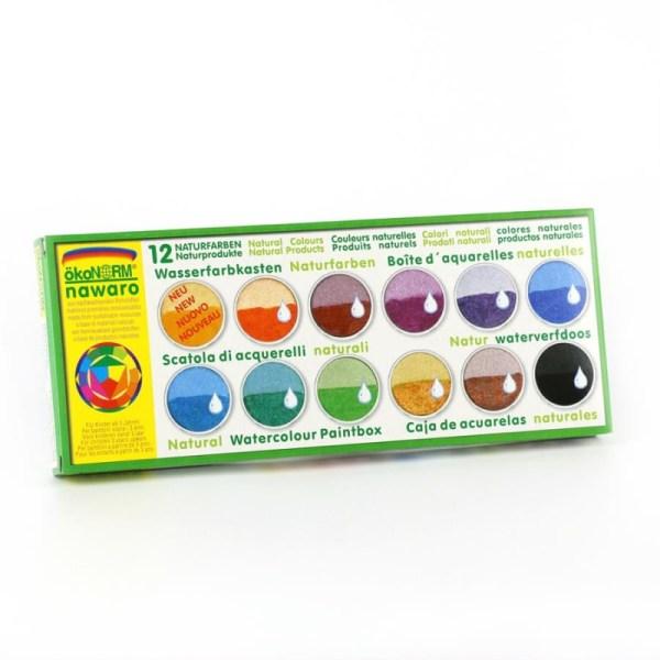 ÖkoNORM Vandfarver - pakke med 12 farver