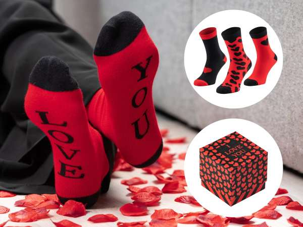 Valentine Socks str. 40-45 (3-pak)