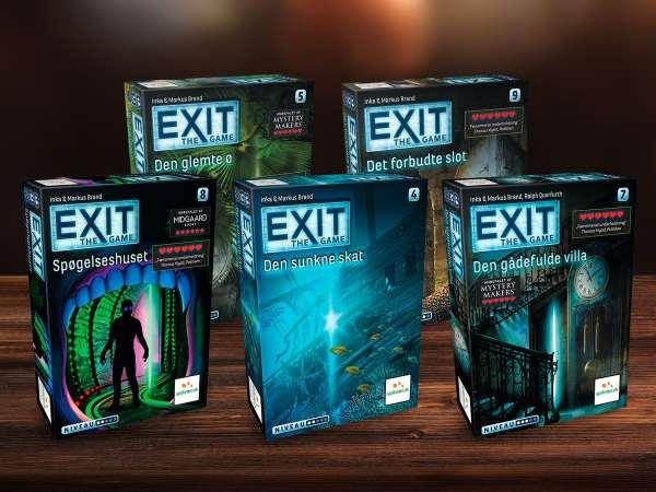 EXIT 1: Den forladte hytte