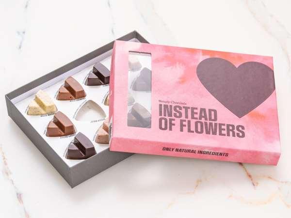 Simply Chocolate Chokoladeæske - Instead of Flower