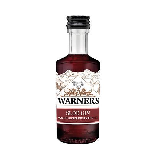 Warner's Sloe Gin, 5 cl