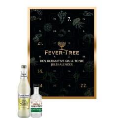 Fever-Tree Gin & Tonic Julekalender + GRATIS Gin & Tonic