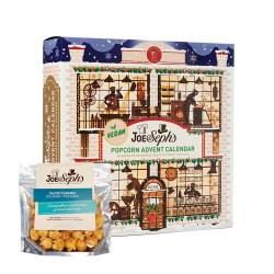 Joe & Sephs VEGANSK Gourmet Popcorn Julekalender +GRATIS pose popcorn (presale)