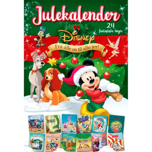 Disney Julekalender med 24 fantastiske bøger - 2021