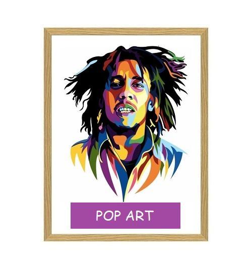 Pop Art - tegning efter dine fotos