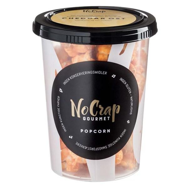 Popcorn med Cheddar ost, No Crap