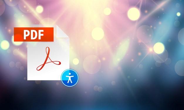 Diferencia entre un PDF estándar y un PDF accesible