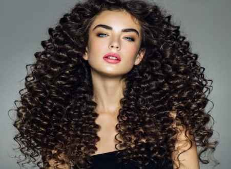 Smooth And Shiny Curls Hairstyles