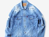 FK-TRUCKER JKT [ICE BLUE] ¥32,000- [FRONT SIDE]