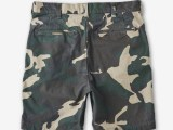 FK-WORK SHORT/BACK SATIN [WOODLAND CAMO] ¥22,000- [BACK SIDE]
