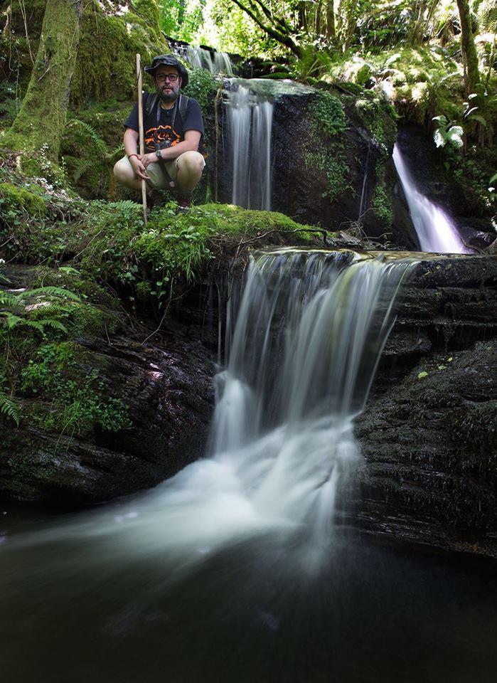 Cascada río