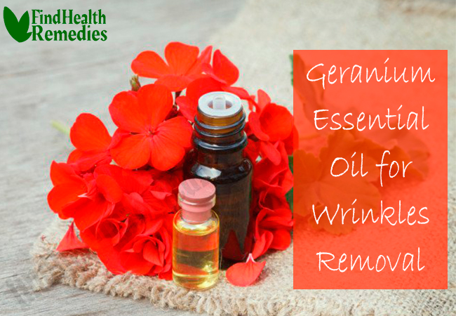 geranium-essential-oil-for-wrinkles-removal