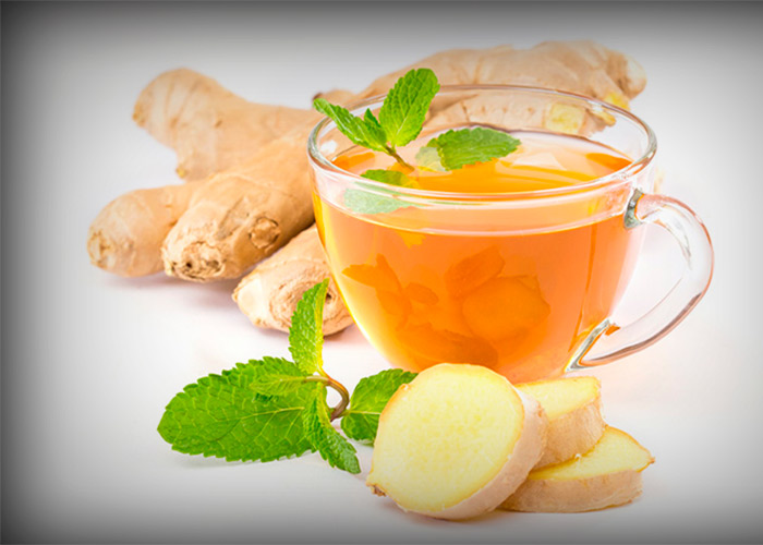 Ginger Tea to Stop Post-Nasal Drip