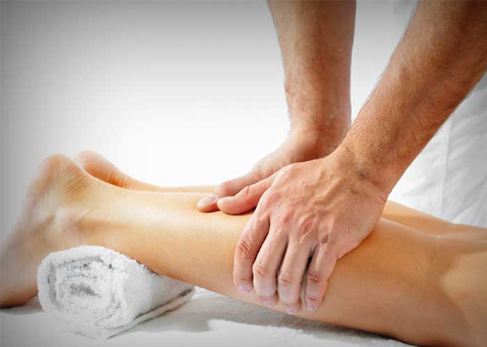 Treating Nervous Weakness by Oil Massaging