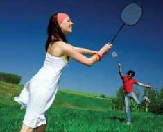 play badminton weight loss