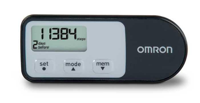 Omron HJ-321 Tri-Axis Pedometer