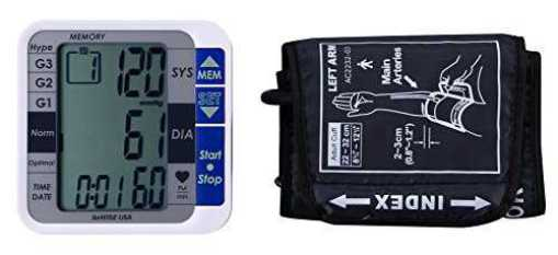 GoWise USA GW22051 Digital Blood Pressure Monitors