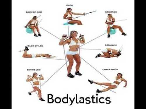 Bodylastics 12 piece resistance band
