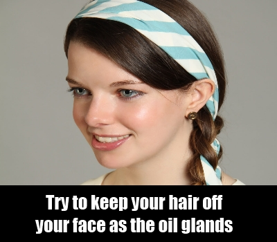 Tie Your Hair To Keep Them Away From Face