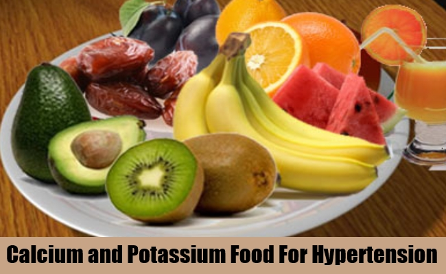 Calcium and Potassium Food