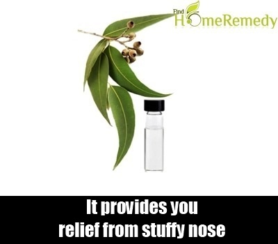 how to get rid of a stuffy nose home remedies
