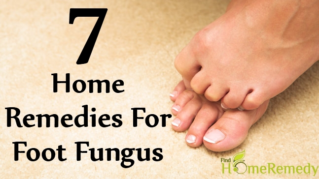 7 Home Remedies For Foot Fungus Natural Treatments Cure