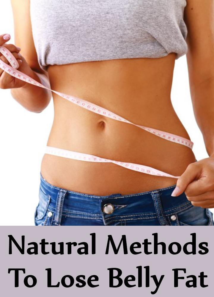 Natural Methods To Lose Belly Fat