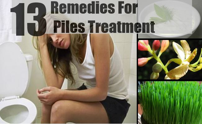 Remedies For Piles Treatment
