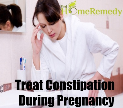 how to get rid of constipation during pregnancy