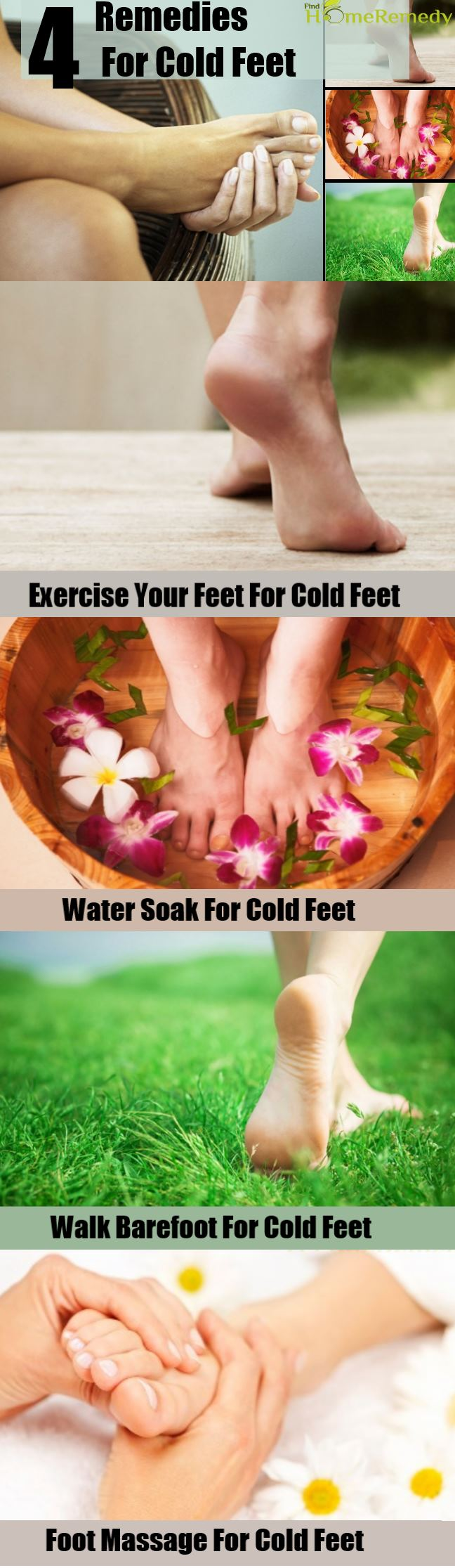 Top 4 Home Remedies For Cold Feet