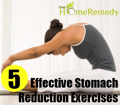 Effective Stomach Reduction Exercises