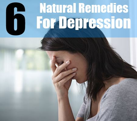 6 natural remedies for depression