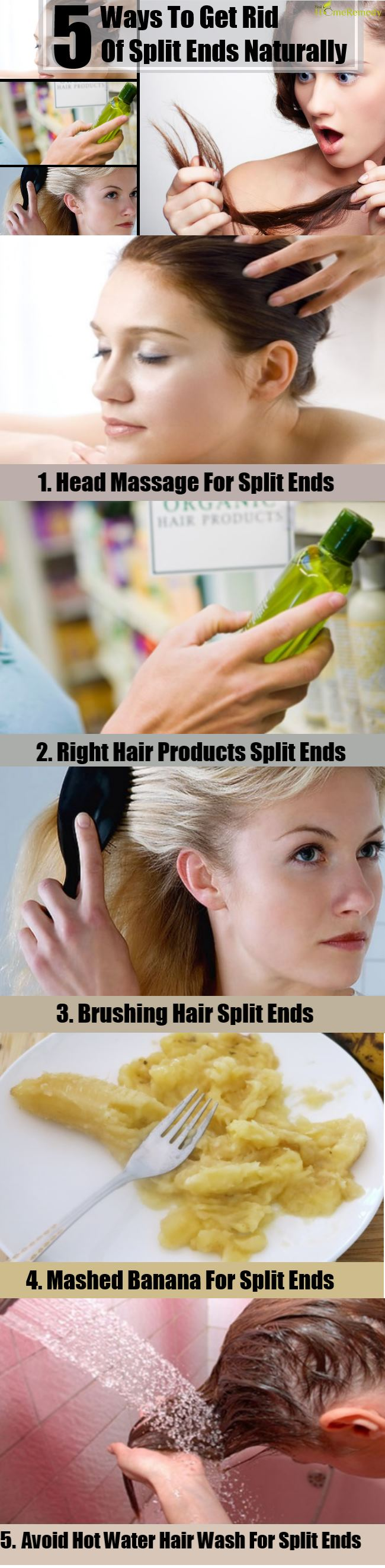 5 Ways To Get Rid Of Split Ends Naturally